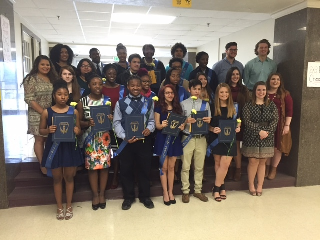NHS inducts new class