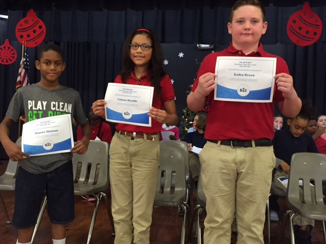Fifth grade spellers