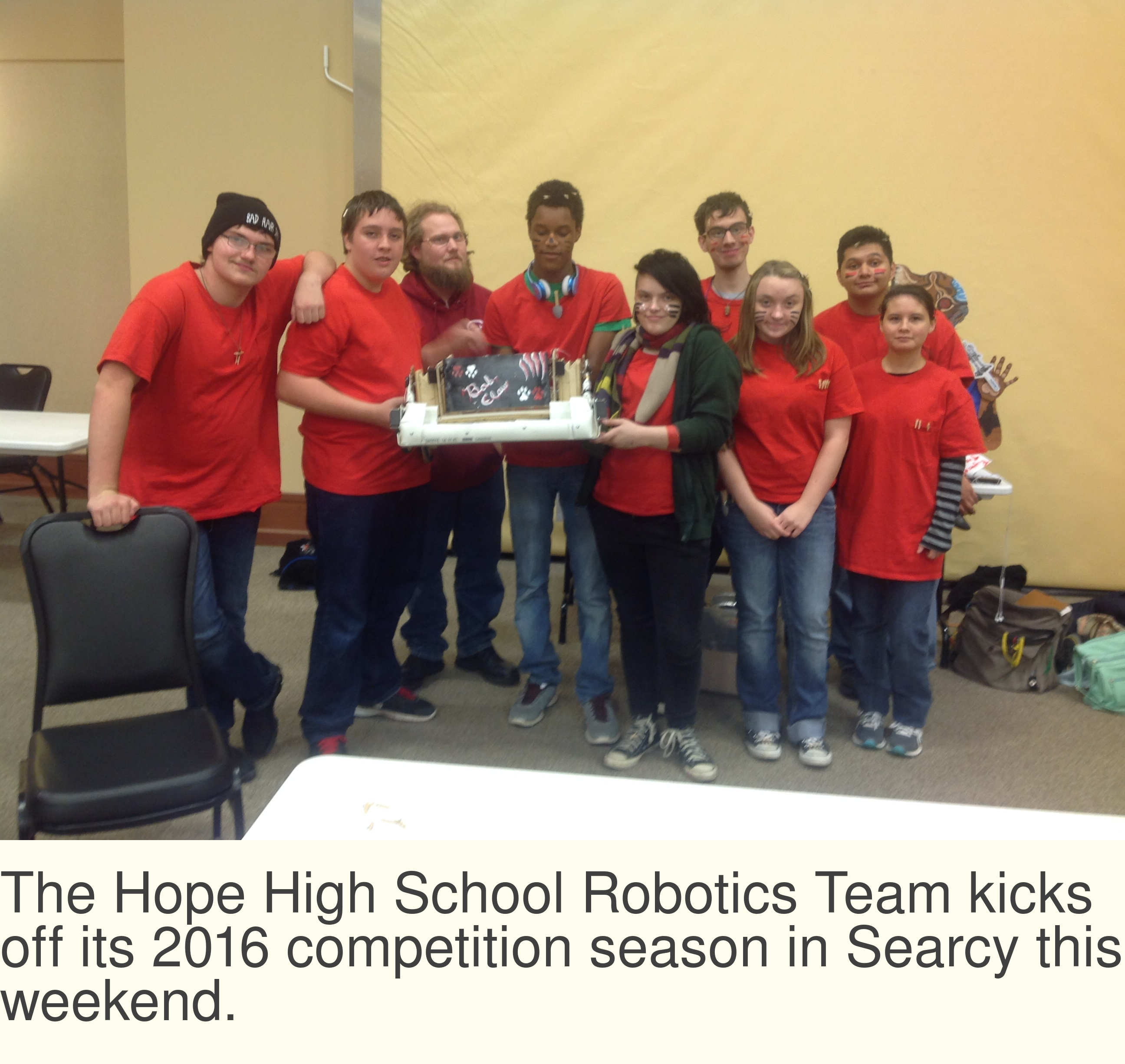 HHS Robotics begins new season