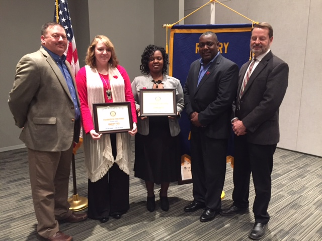 Rotary names teachers of the year