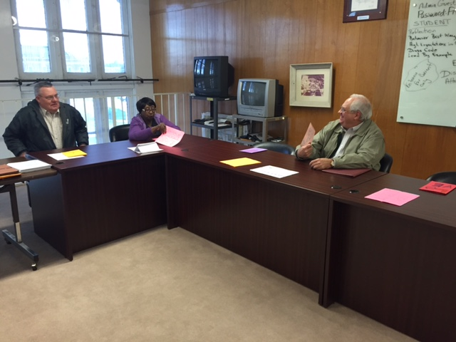 Board addresses unfinished business